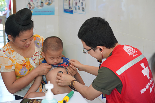Healing up Hands 2019 provided free examination and medications to 700 people in Son La